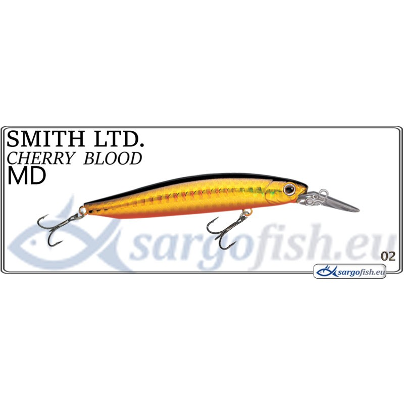 Воблер SMITH Cherry BLOOD MD 82S - 02