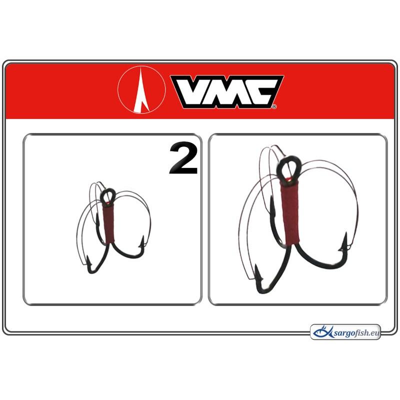 Крючки VMC Treble GRASSFREE BN - 2