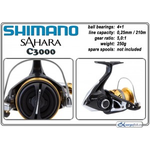 Катушка SHIMANO Sahara - C3000