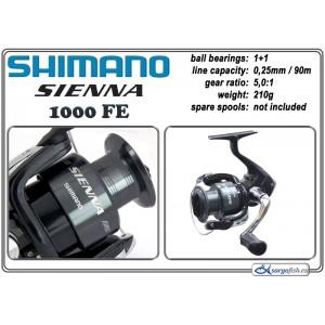 Катушка SHIMANO Sienna - 1000