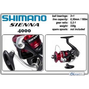Катушка SHIMANO Sienna - 4000