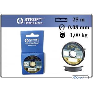 Леска STROFT GTM 25 - 0.08