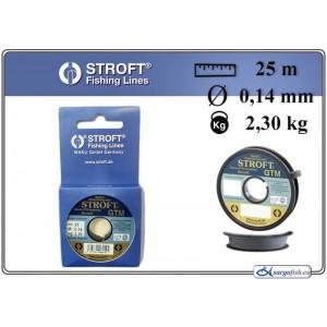 Леска STROFT GTM 25 - 0.14
