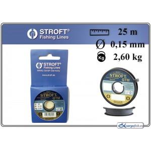 Леска STROFT GTM 25 - 0.15