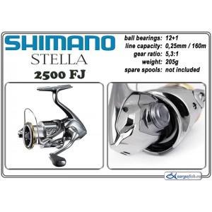 Катушка SHIMANO Stella - 2500 FJ