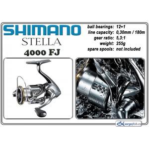 Катушка SHIMANO Stella - 4000 FJ