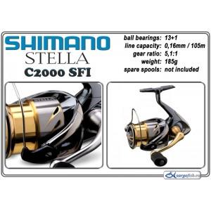 Катушка SHIMANO «Stella» - C2000 S