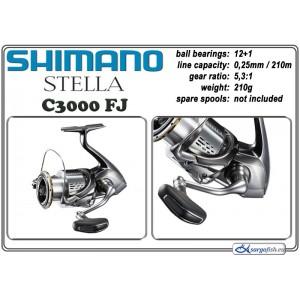 Катушка SHIMANO Stella - C3000 FJ