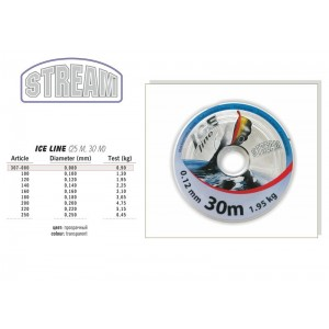 Леска STREAM Ice LINE 30 - 0.08