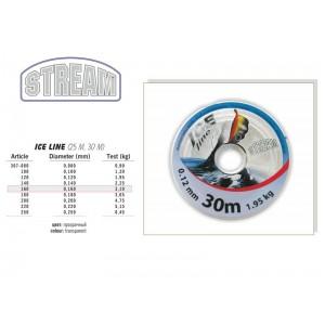 Леска STREAM Ice LINE 30 - 0.16
