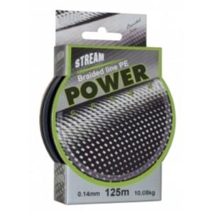 Плетеная леска STREAM Power green - 0.10