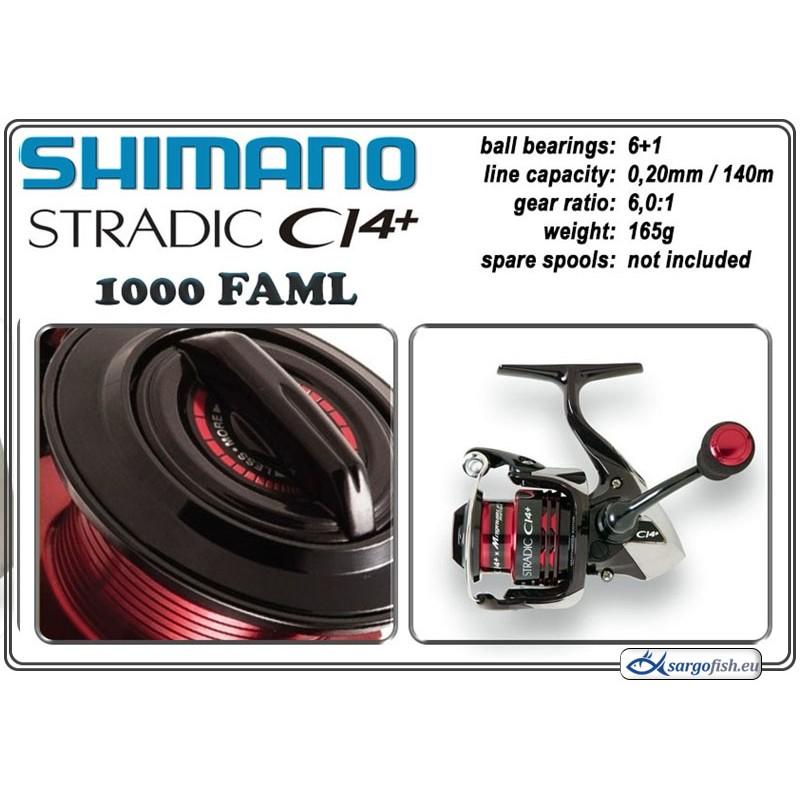 Катушка SHIMANO Stradic CI4+ - 1000 FAML