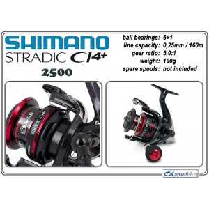 Катушка SHIMANO Stradic CI4+ - 2500