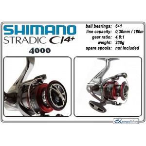 Катушка SHIMANO Stradic CI4+ - 4000