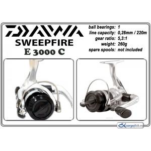 Катушка DAIWA SweepFire E - 3000C