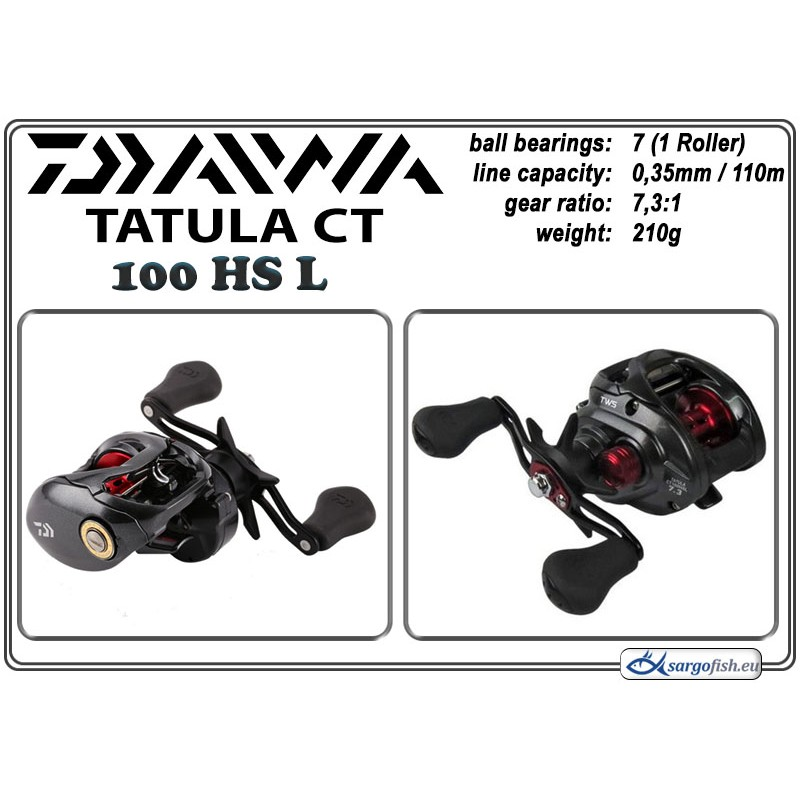 Катушка DAIWA Tatula CT - 100HS L