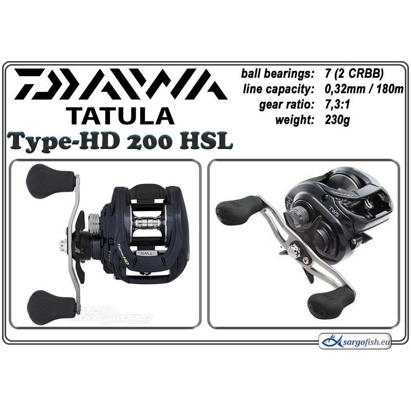 Катушка DAIWA Tatula Type-HD - 200HSL