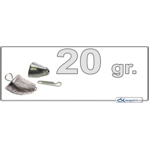Грузик для джига TL - 20.0