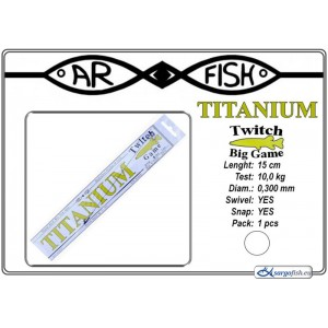 Поводок AR FISH Titanium BIG Game 0.300 - 15