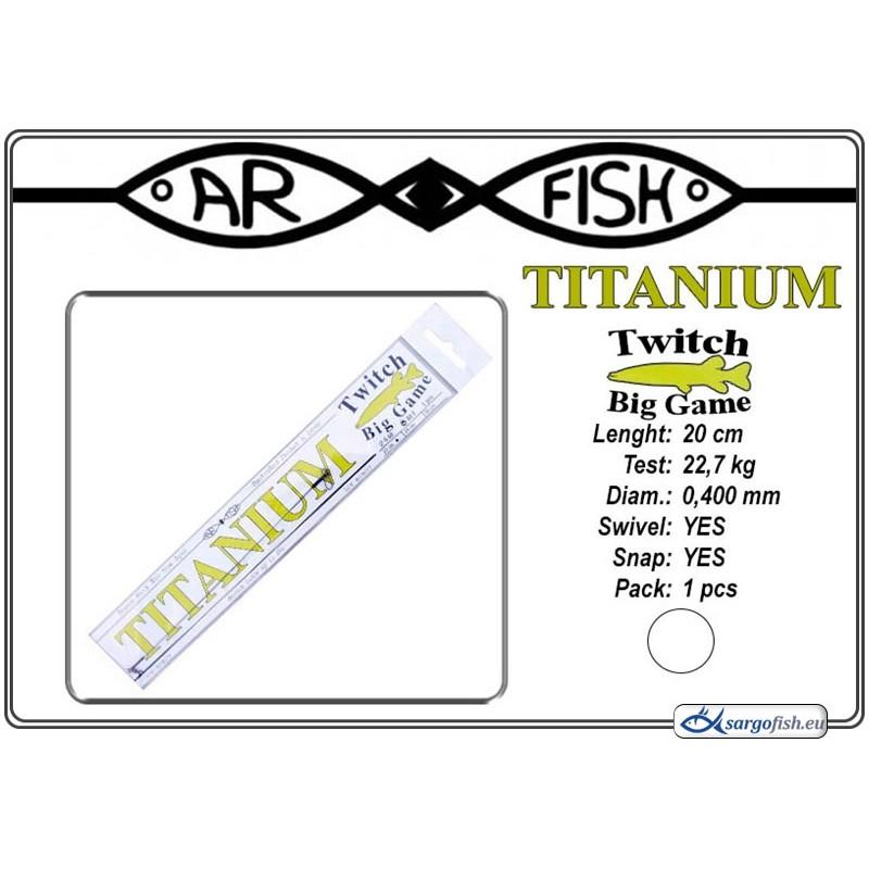 Поводок AR FISH Titanium BIG Game 0.400 - 20