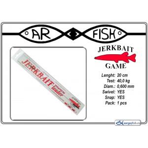 Поводок AR FISH Jerkbait 0.600 - 20