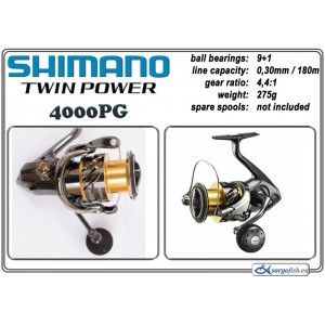 Катушка SHIMANO Twin POWER - 4000PG