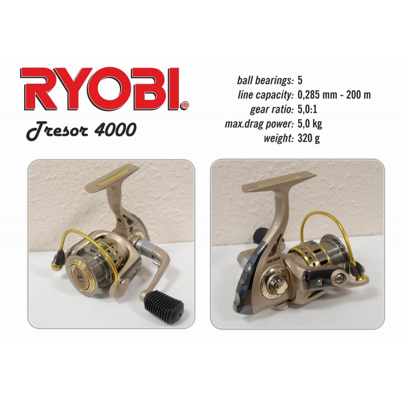 Катушка RYOBI Tresor - 4000