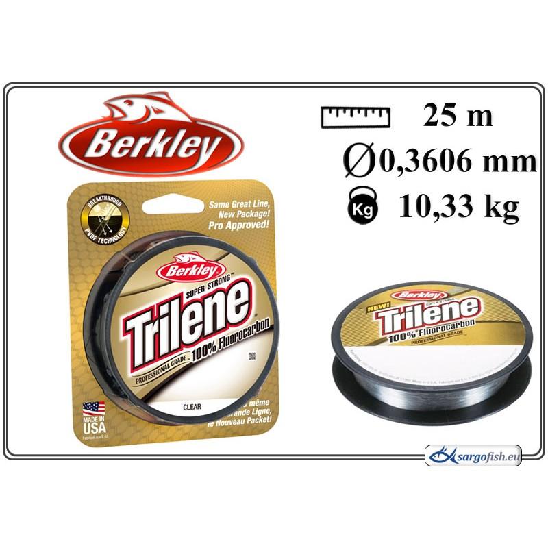 Леска BERKLEY Trilene 25 - 0.35