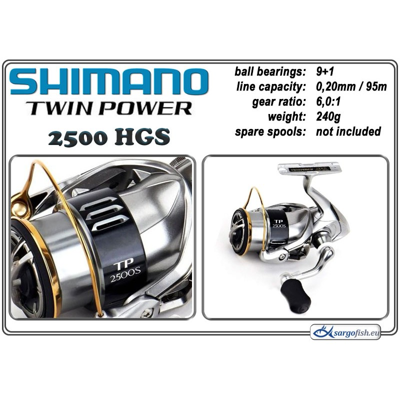 Катушка SHIMANO Twin POWER - 2500 HGS