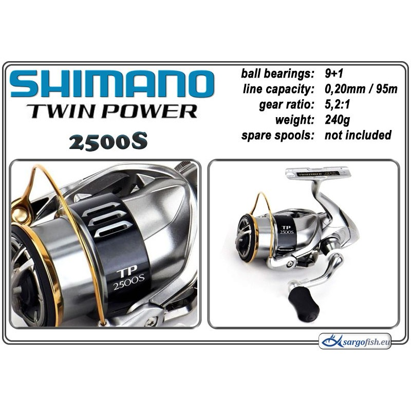 Катушка SHIMANO Twin POWER - 2500 S