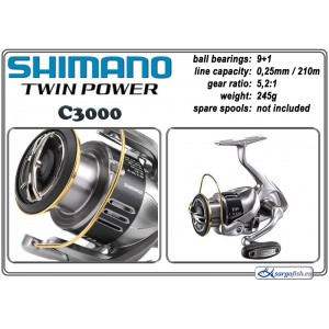 Катушка SHIMANO Twin POWER - C3000