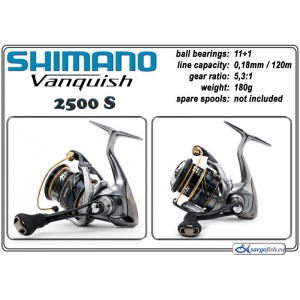 Катушка SHIMANO Vanquish - 2500 S