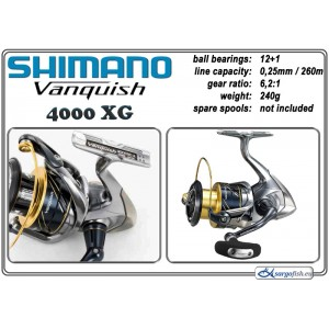 Катушка SHIMANO «Vanquish» - 4000 XG