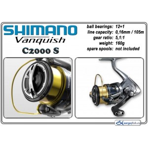 Катушка SHIMANO Vanquish - C2000 SFA