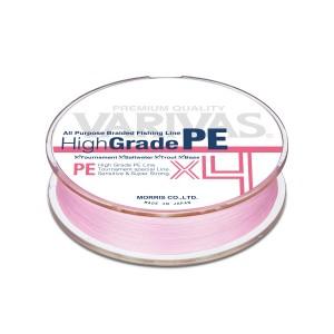 Плетеная леска VARIVAS High GRADE x4 PE rose - 0.8