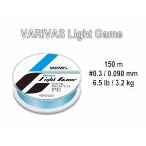 Плетеная леска VARIVAS Avani LIGHT Game PE - 0.3