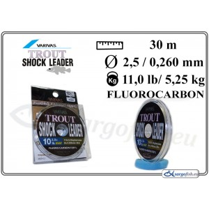 Леска VARIVAS SHOCK Leader 30 - 10