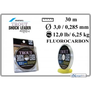Леска VARIVAS SHOCK Leader 30 - 12