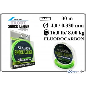 Леска VARIVAS SHOCK Leader 30 - 16