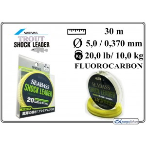 Леска VARIVAS SHOCK Leader 30 - 20