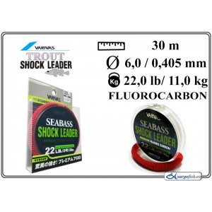 Леска VARIVAS SHOCK Leader 30 - 22