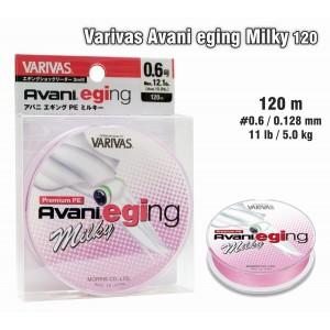 Плетеная леска VARIVAS Avani Eging MILKY PE - 0.6