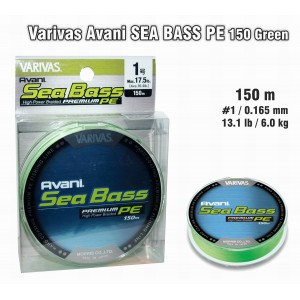 Плетеная леска VARIVAS Sea BASS PE - 1.0