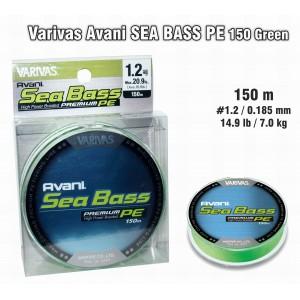 Плетеная леска VARIVAS Sea BASS PE - 1.2