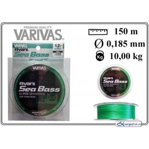 Плетеная леска VARIVAS Sea BASS x8 LS - 1.2