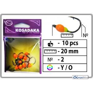 Мормышка K BN - 2 (YO)