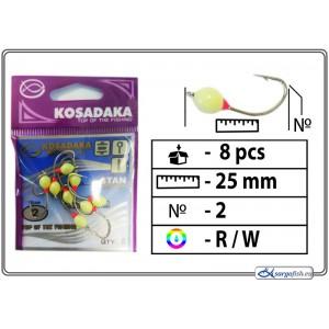 Мормышка K Silver - 2 (RW)