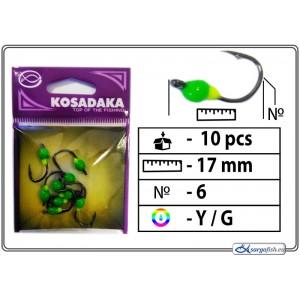 Мормышка K BN 0 - 6 (YG)