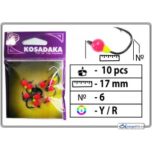 Мормышка K BN 0 - 6 (YR)