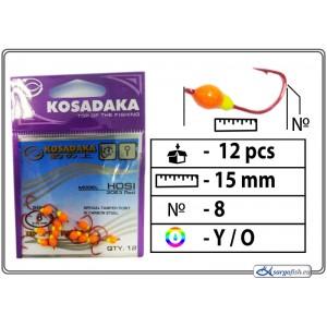 Мормышка K Red - 8 (YO)